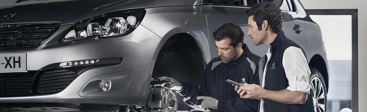 La révision annuelle chez Peugeot