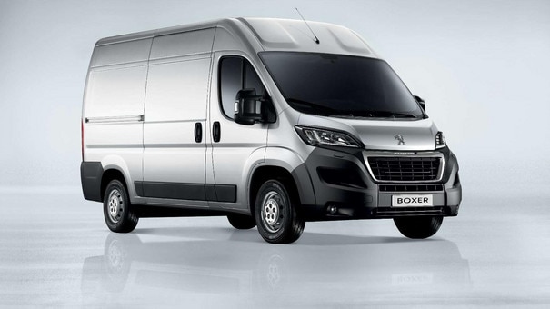 Peugeot Boxer : design and confort
