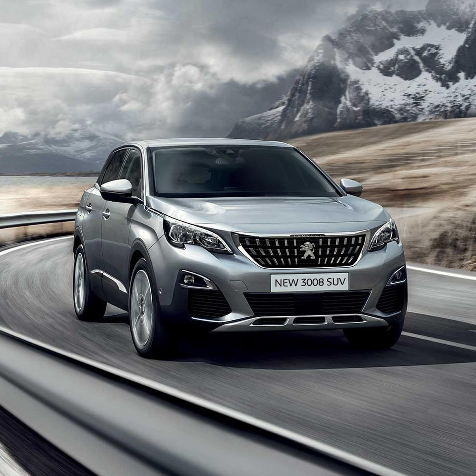 Videos photos of the new suv peugeot 3008 for Top garage gennevilliers