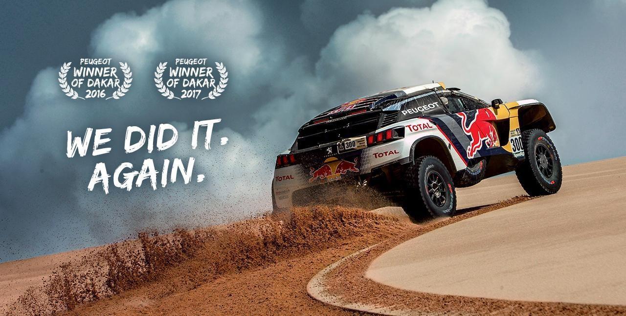 PEUGEOT Wins Dakar Rally 2017 in the 3008 DKR